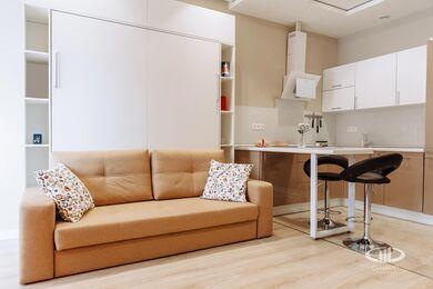 Дизайн и ремонт квартиры-студии в ЖК Лайнер | Фото №2