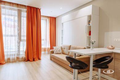 Дизайн и ремонт квартиры-студии в ЖК Лайнер | Фото №3
