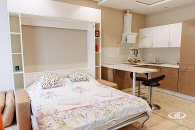 Дизайн и ремонт квартиры-студии в ЖК Лайнер | Фото №9