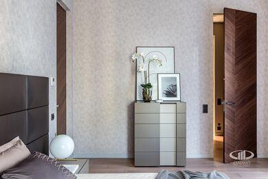 Дизайн и ремонт квартиры в ЖК Садовые Кварталы | Современный стиль | Фото №14