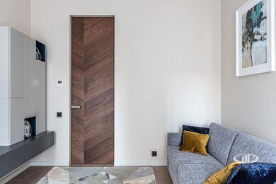 Дизайн и ремонт квартиры в ЖК Садовые Кварталы | Современный стиль | Фото №23