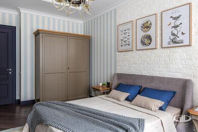Дизайн и ремонт квартиры в ЖК Алые Паруса в классическом стиле | Фото №21