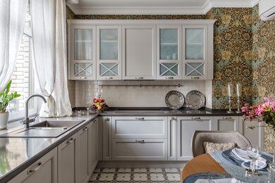 Дизайн и ремонт квартиры в ЖК Алые Паруса в классическом стиле | Фото №11