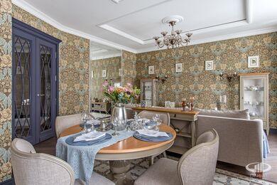 Дизайн и ремонт квартиры в ЖК Алые Паруса в классическом стиле | Фото №2