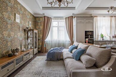 Дизайн и ремонт квартиры в ЖК Алые Паруса в классическом стиле | Фото №5