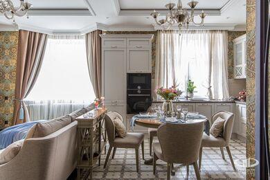 Дизайн и ремонт квартиры в ЖК Алые Паруса в классическом стиле | Фото №8