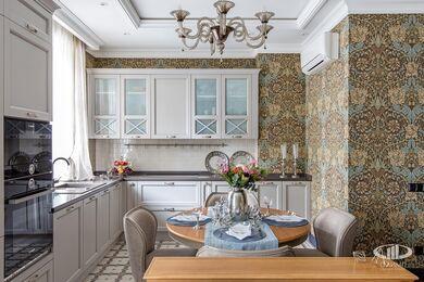 Дизайн и ремонт квартиры в ЖК Алые Паруса в классическом стиле | Фото №9