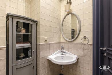 Дизайн и ремонт квартиры в ЖК Алые Паруса в классическом стиле | Фото №29
