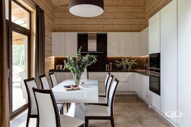 Дизайн интерьера загородного дома в стиле минимализм | Фото №10