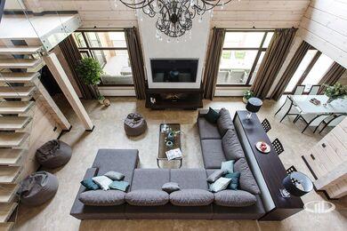 Дизайн интерьера загородного дома в стиле минимализм | Фото №14