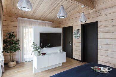 Дизайн интерьера загородного дома в стиле минимализм | Фото №18