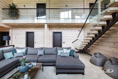 Дизайн интерьера загородного дома в стиле минимализм | Фото №2