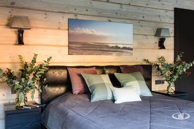 Дизайн интерьера загородного дома в стиле минимализм | Фото №30