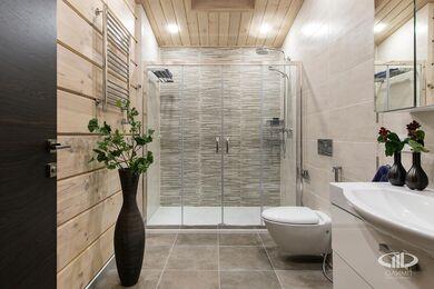 Дизайн интерьера загородного дома в стиле минимализм | Фото №44