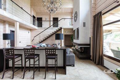 Дизайн интерьера загородного дома в стиле минимализм | Фото №6