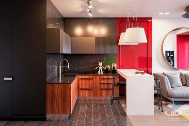 Дизайн интерьера однокомнатной квартиры в ЖК Достояние | Фото №5