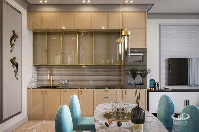Дизайн проект квартиры в ЖК Достояние | 3D-визуализация №1
