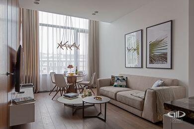 Дизайнерский ремонт апартаментов в современном стиле | Фото №12
