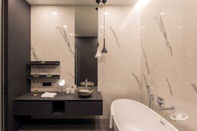 Дизайнерский ремонт апартаментов в современном стиле | Фото №29
