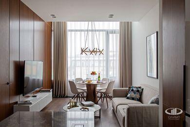 Дизайнерский ремонт апартаментов в современном стиле | Фото №5