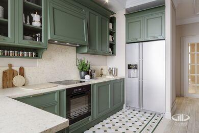Интерьер квартиры в классическом стиле | ЖК Достояние | 3d-визуализация №4