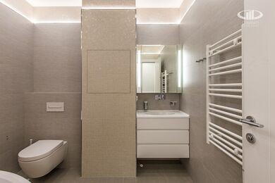 Ремонт трехкомнатной квартиры в современном стиле | ЖК Наследие | Фото №10