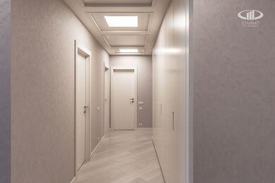 Ремонт трехкомнатной квартиры в современном стиле | ЖК Наследие | Фото №14