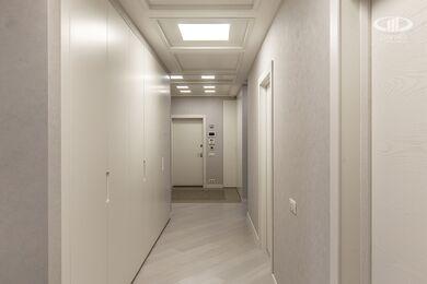 Ремонт трехкомнатной квартиры в современном стиле | ЖК Наследие | Фото №16