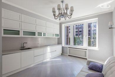 Ремонт трехкомнатной квартиры в современном стиле | ЖК Наследие | Фото №4