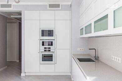 Ремонт трехкомнатной квартиры в современном стиле | ЖК Наследие | Фото №6