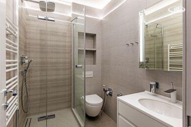 Ремонт трехкомнатной квартиры в современном стиле | ЖК Наследие | Фото №9