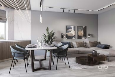 Дизайн интерьера большой квартиры в современном стиле | 3d-визуализация №2