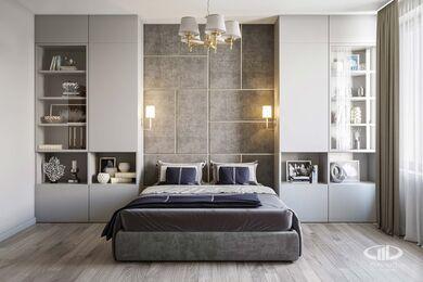 Дизайн интерьера трехкомнатной квартиры в ЖК Достояние современный стиль | 3d-визуализация №7