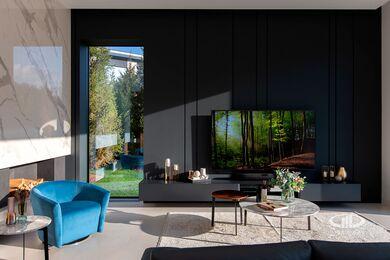 Внутренняя отделка загородного дома в стиле Минимализм | Фото №18