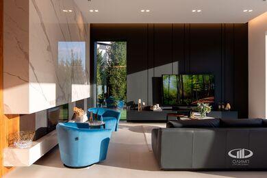 Внутренняя отделка загородного дома в стиле Минимализм | Фото №19