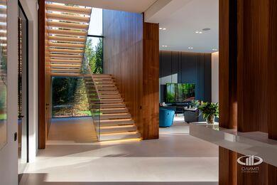 Внутренняя отделка загородного дома в стиле Минимализм | Фото №25