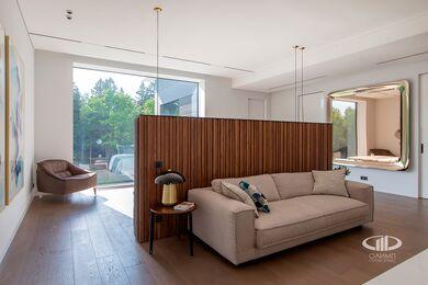 Внутренняя отделка загородного дома в стиле Минимализм | Фото №34