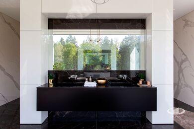 Внутренняя отделка загородного дома в стиле Минимализм | Фото №43