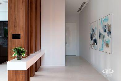 Внутренняя отделка загородного дома в стиле Минимализм | Фото №6