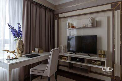 Дизайнерский ремонт квартиры в стиле Ар-Деко ЖК Дыхание | Фото №20