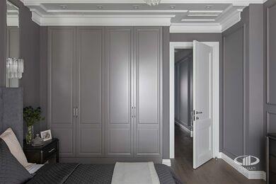 Дизайнерский ремонт 4-комнатной квартиры 140 кв.м. фото №13 | Спальня