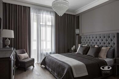 Дизайнерский ремонт 4-комнатной квартиры 140 кв.м. фото №8 | Спальня