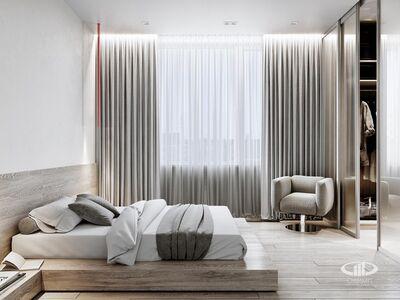 Спальня | 3D визуализация в стиле минимализм