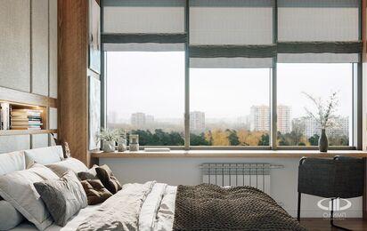 Дизайн интерьера квартиры в стиле минимализм в ЖК Лица | Фото №8