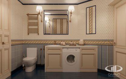 Дизайн интерьера квартиры в классическом стиле | Визуализация №20