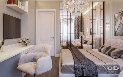 Спальня | 3D-визуализация №2