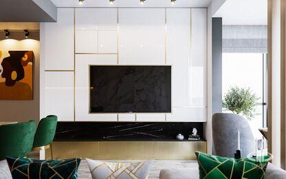 Дизайн интерьера квартиры в ЖК Дом Серебряный Бор | Фото №3