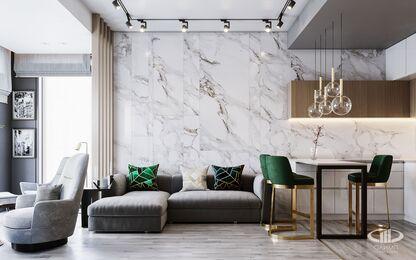 Дизайн интерьера квартиры в ЖК Дом Серебряный Бор | Фото №4