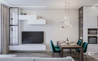 Дизайн интерьера квартиры в ЖК Новочеремушкинская 17 | Фото №5