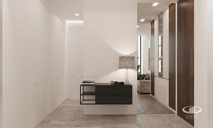Визуализация интерьера квартиры в ЖК Balchug Viewpoint | Современный стиль | Фото №11